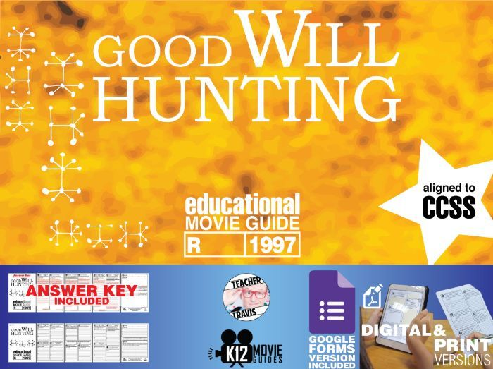 Good Will Hunting Movie Guide | Questions | Worksheet | Answer Key (R - 1997)