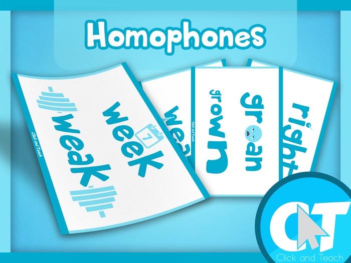 Homophones Display Pack