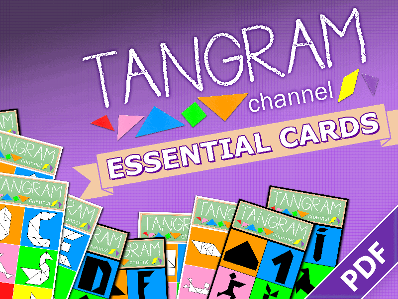 252 Tangram puzzles & solutions - TANGRAM CHANNEL ESSENTIAL CARDS