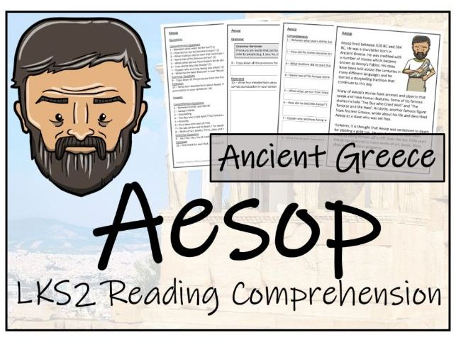 LKS2 Aesop Reading Comprehension Activity