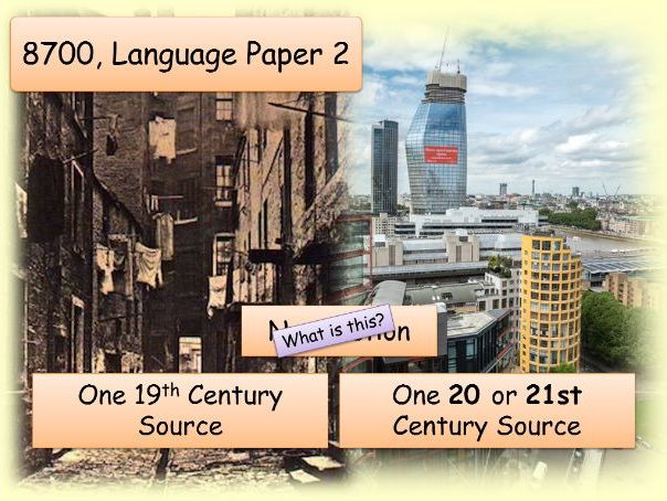 AQA 8700 Paper 2: Schools Comparison