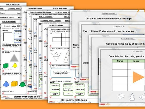 Year 5/6 Mixed Age Summer Block 3 Step 14 Maths Lesson Pack