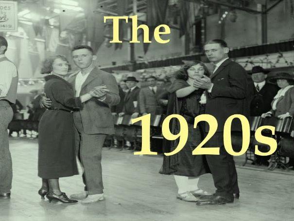America in the 1920's