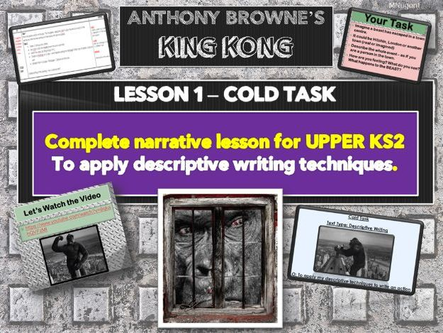 KING KONG - Lesson 1 -COLD TASK (NARRATIVE)