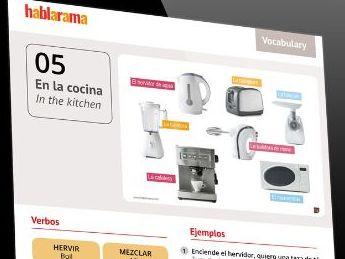 Spanish Vocabulary Worksheet Pack 1