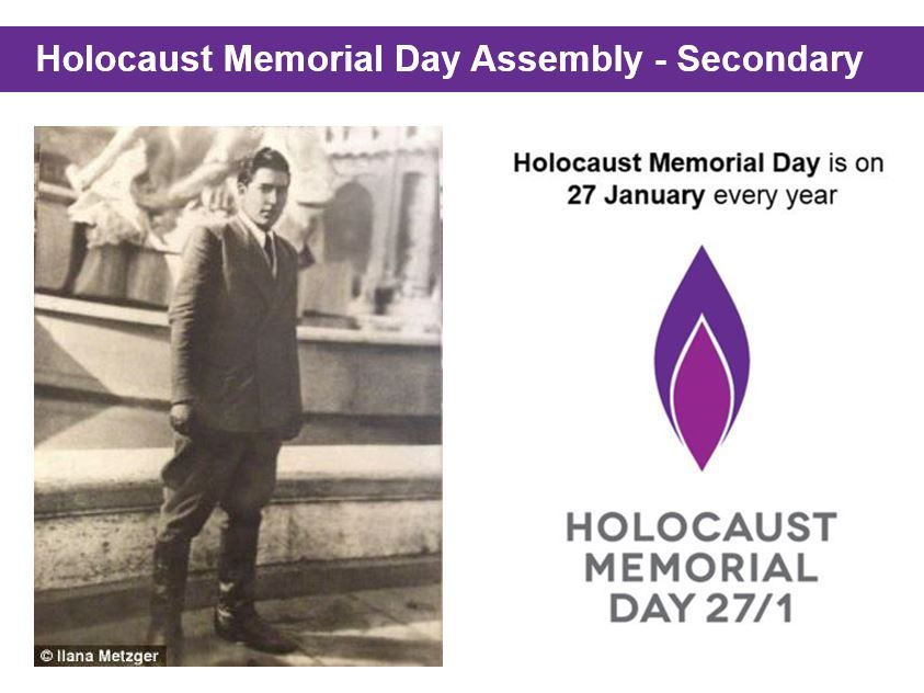 Holocaust Memorial Day Assembly for Secondary Schools