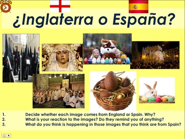 KS3/4 Spanish - Semana Santa / Holy Week (Easter)