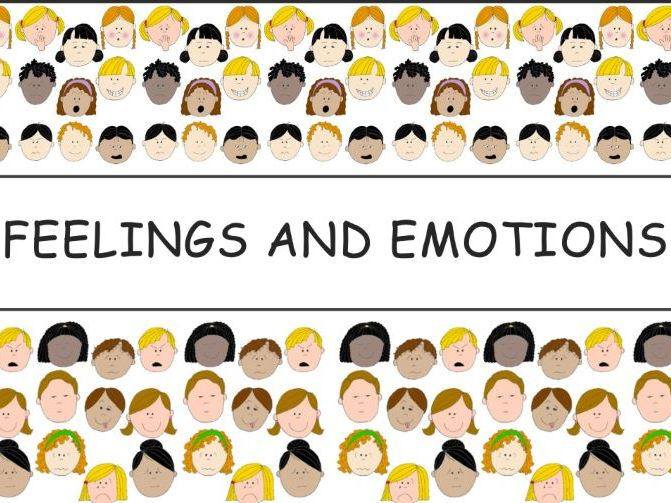 KG1/KG2 - Feelings and Emotions PPT