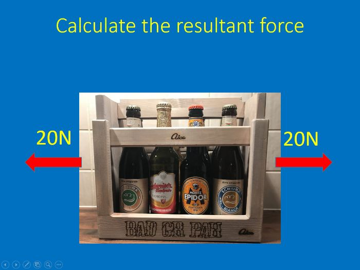 GCSE Physics - Resultant Forces lesson plan, presentation and worksheet with answers