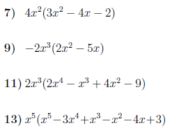 Multiplying expressions with powers worksheet no 3 (with solutions)