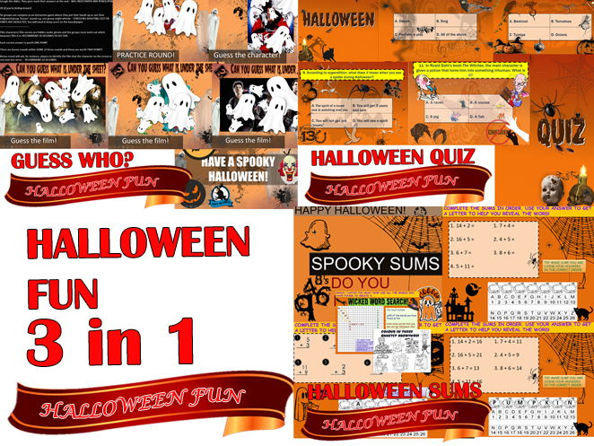 COMPLETE HALLOWEEN BUNDLE