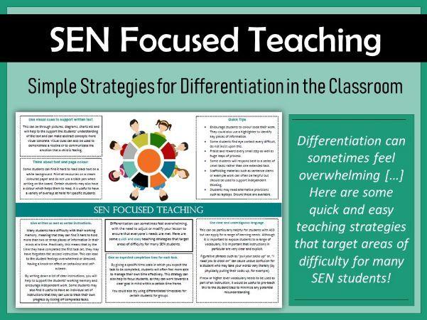 SEN Focused Teaching