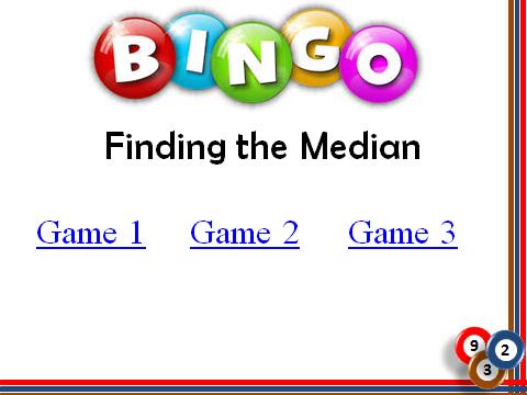 BINGO: Finding the Median