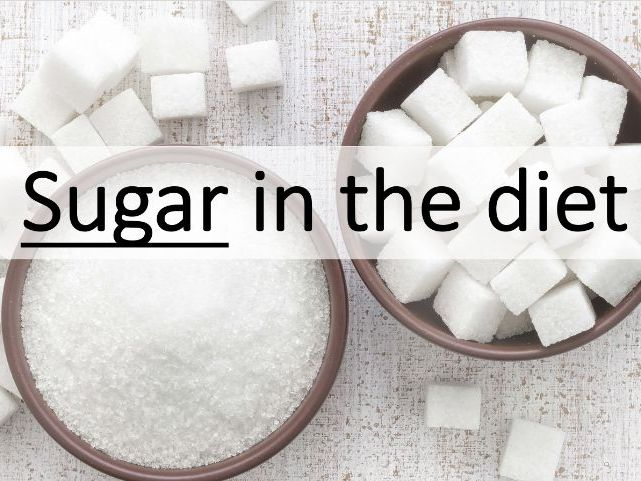 Food & Nutrition Sugar Lesson