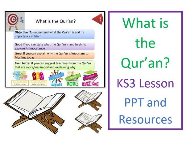 KS3 Islam: What is the Qur'an? Whole Lesson and Resources