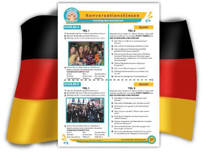 Ruhm - German Speaking Activity
