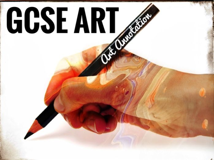 REVISION. GCSE Art Analysis and Annotation guide sheets