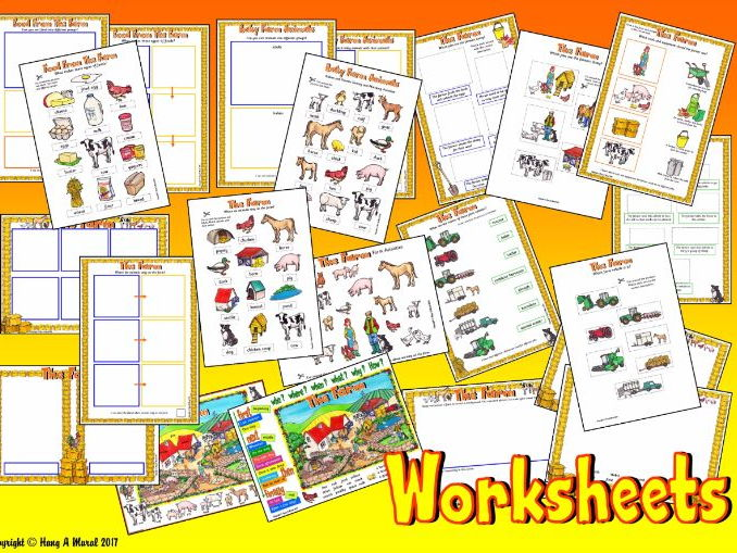 The Farm KS1– Worksheets