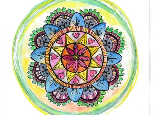 Art, Maths and Well Being: How to Draw a Mandala