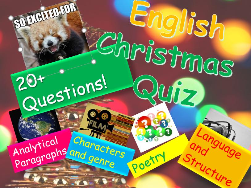 Christmas Quiz: English Christmas Quiz