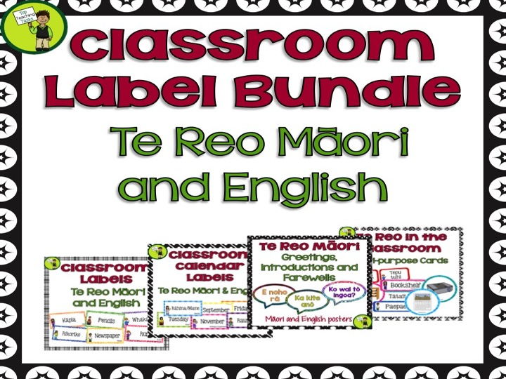 Bundle classroom display labels te reo mori and english by bundle classroom display labels te reo mori and english by topteachingtasks teaching resources tes m4hsunfo