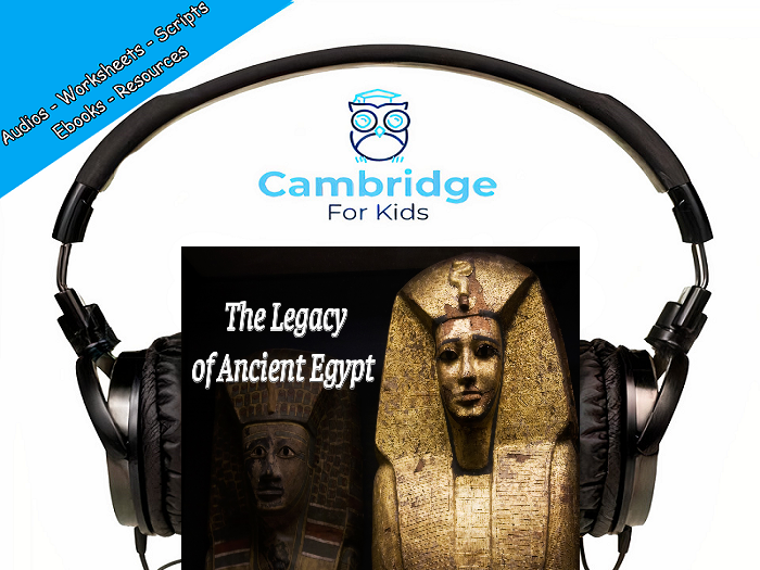 The Legacy of Ancient Egypt Audiobook & Comprehension Activities / Worksheets / eBooks