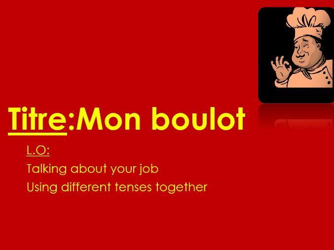Studio 3 rouge module 3 Unit 5 pp. 62–63 Mon boulot