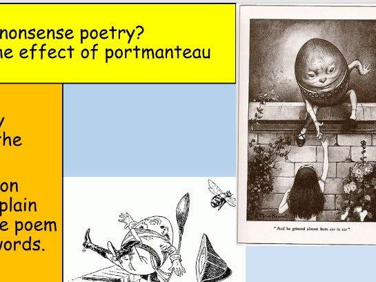 Jabberwocky KS3 Poetry