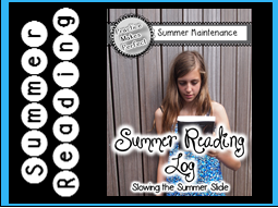 Free Summer Reading Log Slow the Summer Slide
