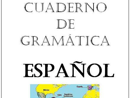Spanish grammar booklet KS3/KS4