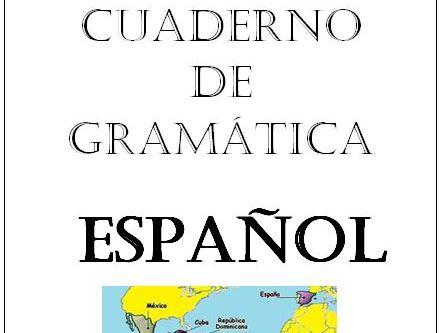 Spanish grammar booklet KS3/KS4