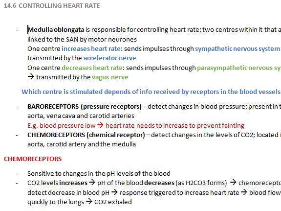 Controlling Heart Rate