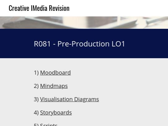 Creative Imedia - R081 Revision Website