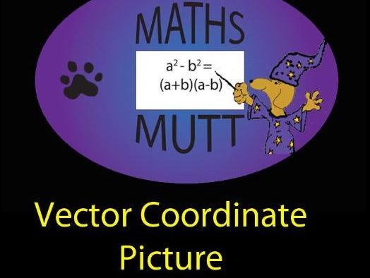 Puzzle Picks : Vector co-ordinate picture