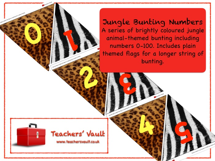 Jungle Bunting Numbers