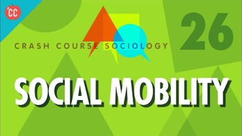 Crash Course Sociology E# 26 Social Mobility  Q & A Key