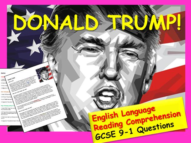 Reading Comprehension - Trump