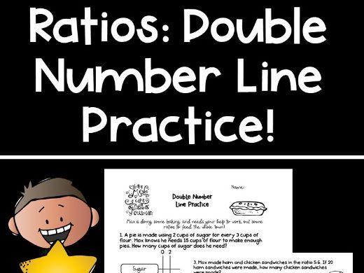 Ratios: Double Number Line Practice!