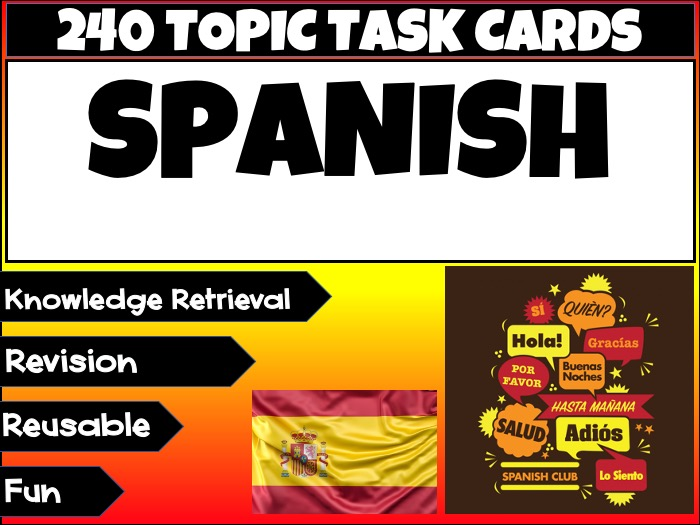 Spanish Language Learning MFL
