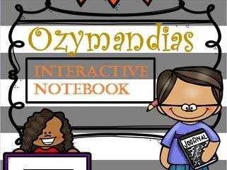 Ozymandias- INTERACTIVE notebook