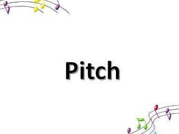 Pitch - the 3 little bears PPT
