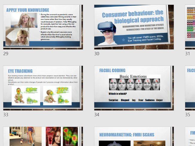 Applied Psychology Unit 1 CONSUMER BEHAVIOUR 3 Lessons