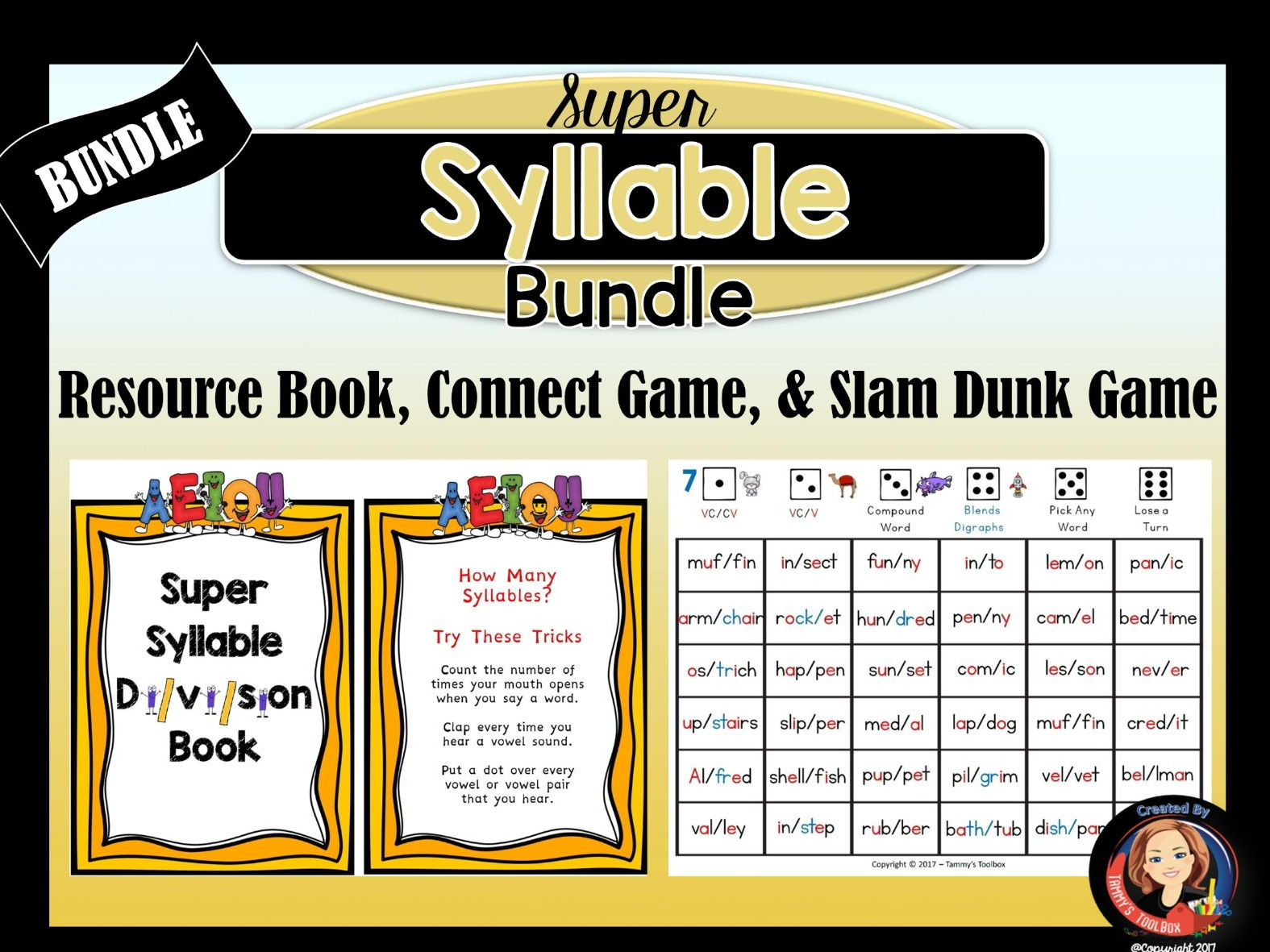 Syllable Division Activities and Games