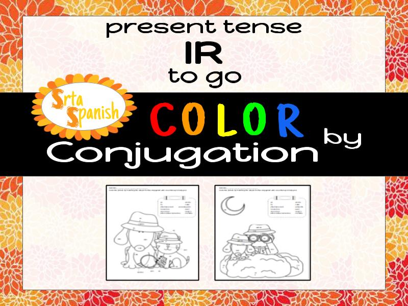Color by Conjugation - IR (to go)