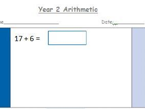 Year 2 Arithmetic Questions