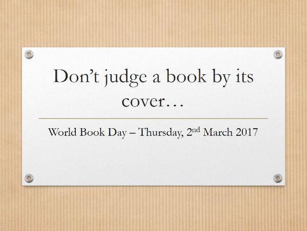 World Book Day Activity 2017