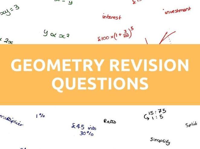 GCSE Maths Geometry Questions