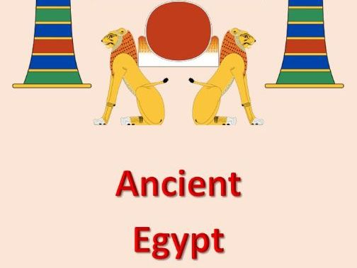 ANCIENT EGYPT LESSON PACK Sixteen Lessons