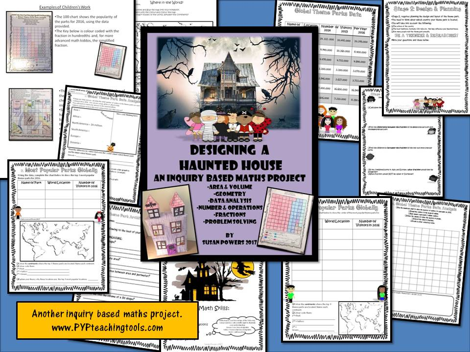 An Inquiry Based Maths Project Design A Haunted House: Data Analysis, Measure, Geometry