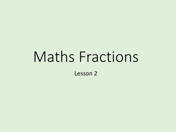 Maths GCSE - Numbers, Tuition Lesson 2 of 5 (Power Point)